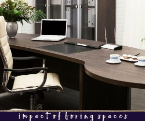 What's the Impact of Boring Spaces?