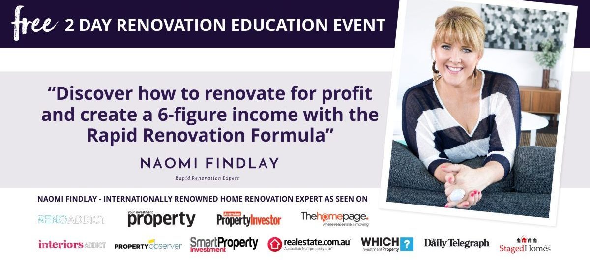 Rapid Renovation Formula - FREE 2 day renovation event