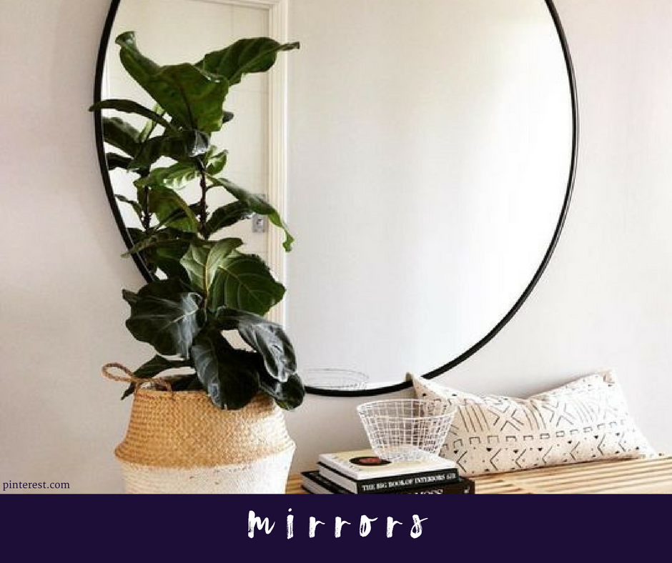 Mirrors Used To Make Rooms Larger