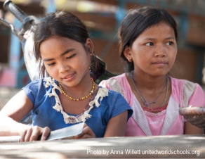 Girl preparing food, Padol Village, Cambodia (Photo by Anna Willett) unitedworldschools org