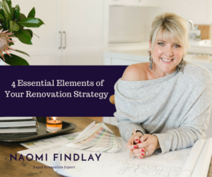 4 Essential Elements of Your Renovation Strategy