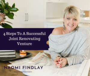 4 Steps To A Successful Joint Renovating Venture