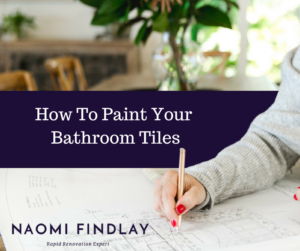 How To Paint Your Bathroom Tiles