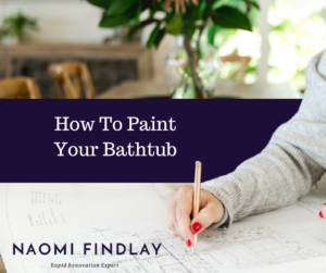 How To Paint Your Bathtub