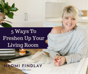 5 Ways To Freshen Up Your Living Room