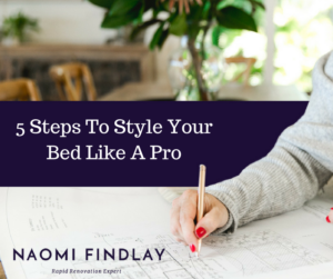 5 Steps To Style Your Bed Like A Pro