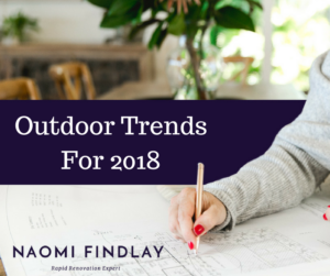 Outdoor Trends For 2018