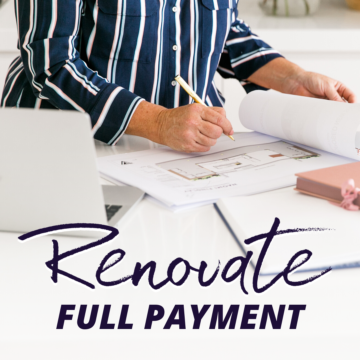 Renovate - Full Payment