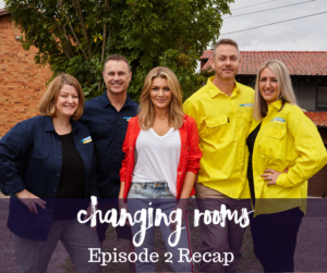 Changing Rooms Teams with Natalie Bassingthwaighte