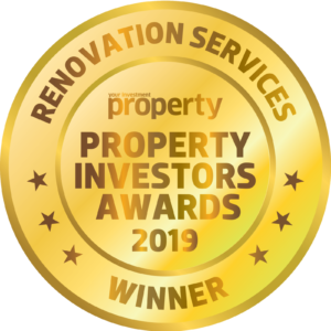 Winner of Property Investors Awards for 'Renovation Services'