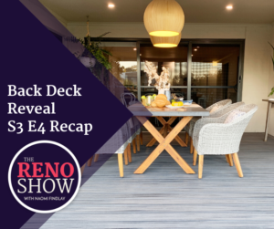 Back Deck Reveal Recap
