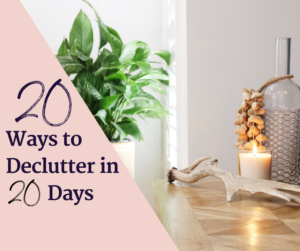Declutter in 20 days