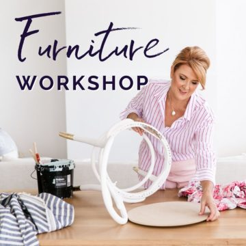 Furniture workshop with Naomi Findlay