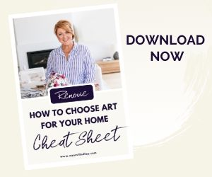 How to choose art for your home - your cheat sheet