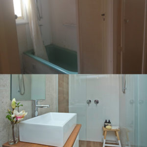 Before and After Photos - Bathroom Renovation