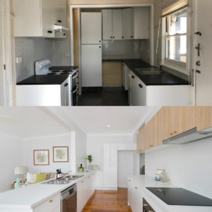 Before and After Photos - Kitchen