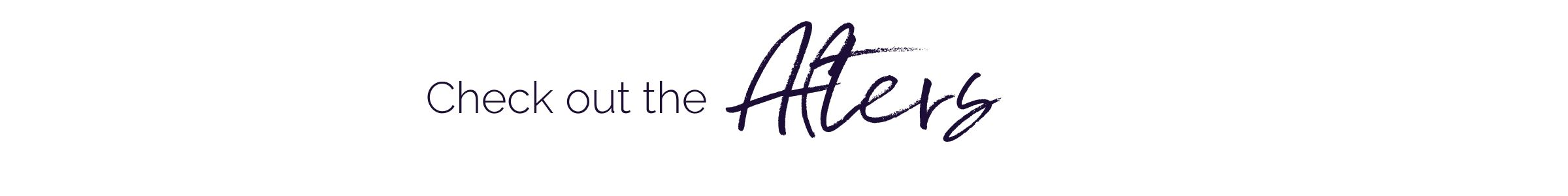Check out the afters - boutique interior designer