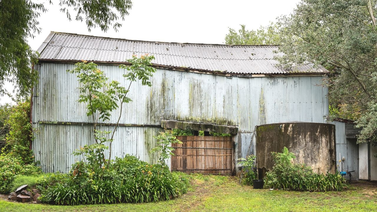 Lorn Rose Farm Shed Before