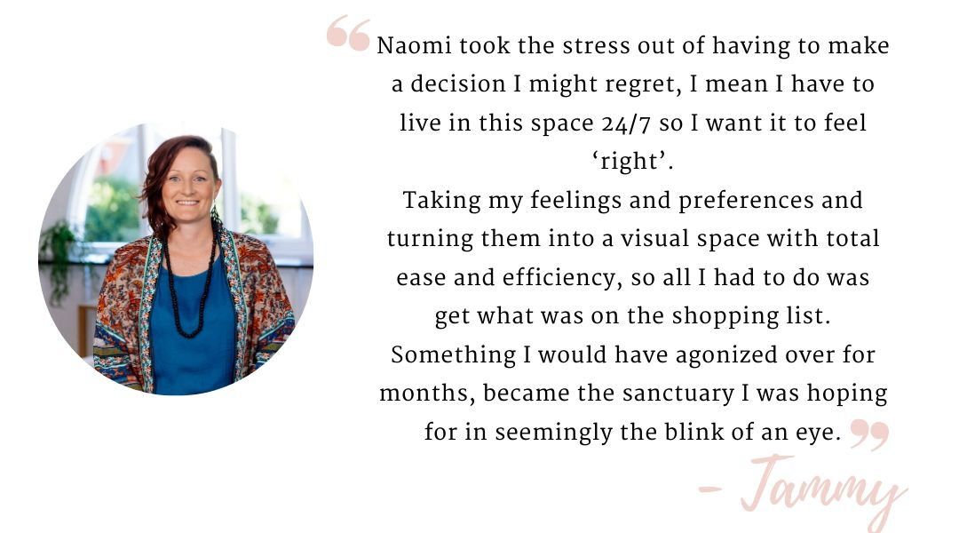 Testimonial by Tammy on working with Naomi Findley