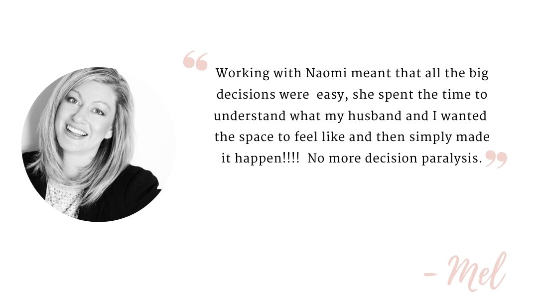 Testimonial by Mel on Naomi Findley