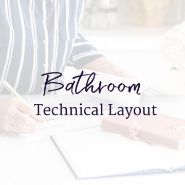 Bathroom Technical Layout