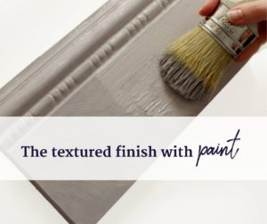 Textured Paint Finish For Furniture