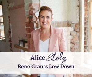 Alice Stolz Government renovation Grants