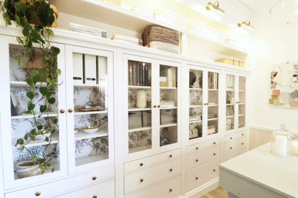 DIY built in hemnes cabinetry with Naomi Findlay