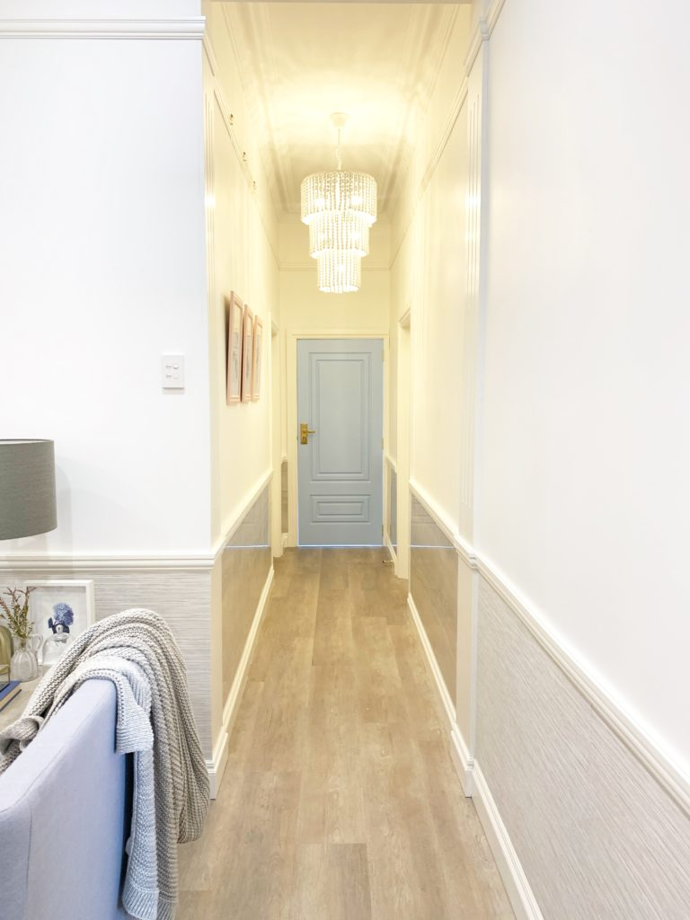 Carrington House Hallway renovation after picture
