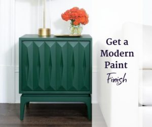 creating a modern look with paint