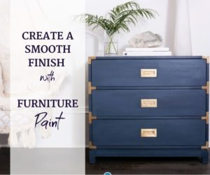 smooth finish with jolie home paint
