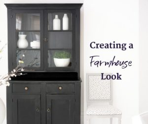 creating a farmhouse look