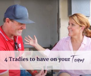 four tradies to have on your renovation team